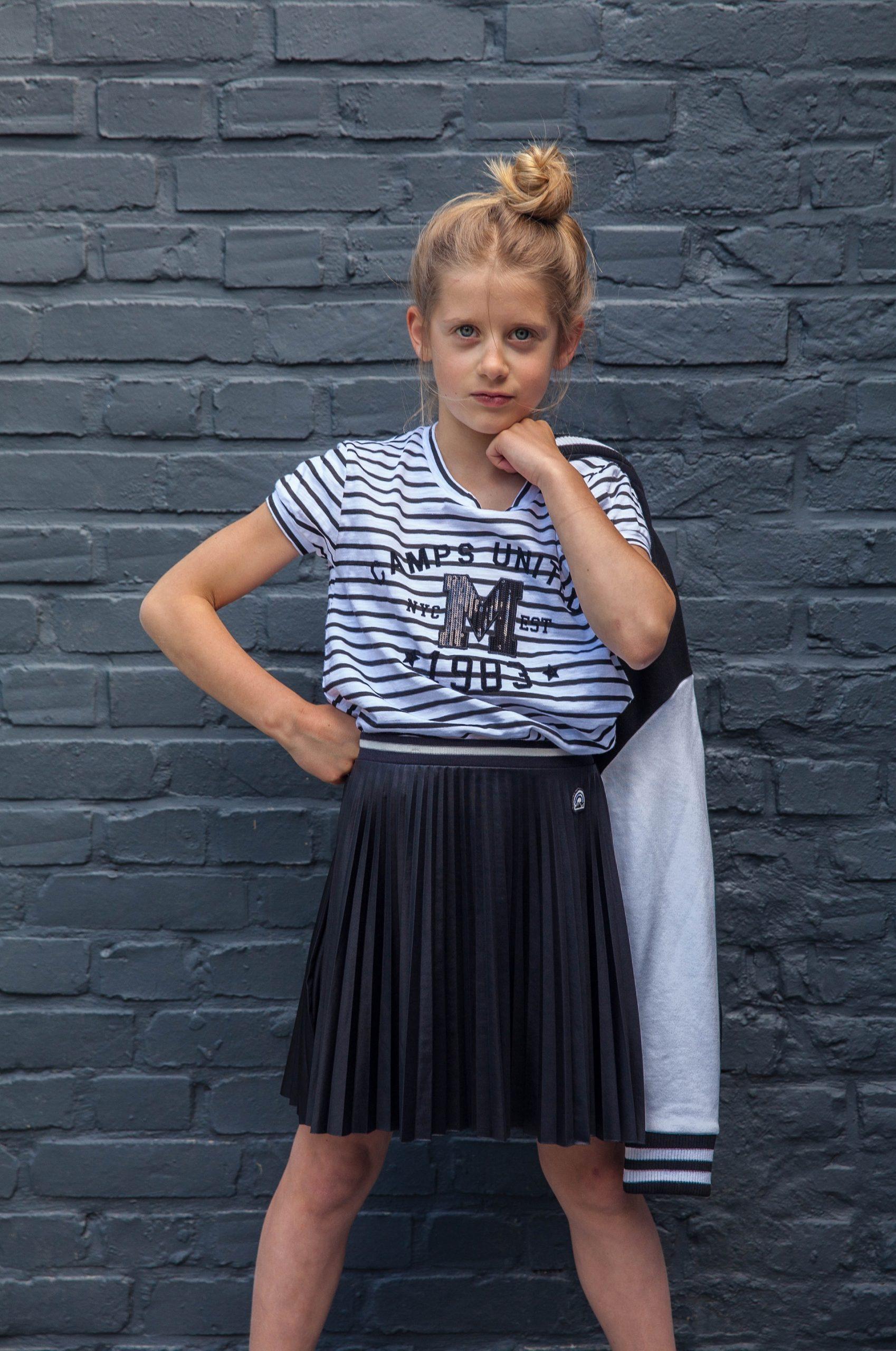 photo fille camps textile